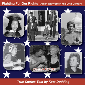 Photo of the cover of Kate Dudding's CD Fighting For Our Rights