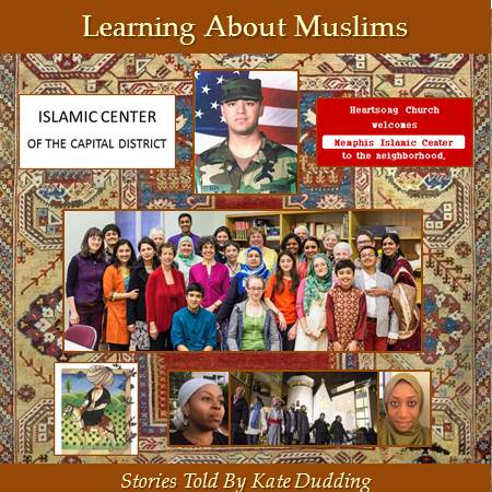 Photo of the cover of Kate Dudding's CD Learning About Muslims