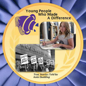 photo of cover of Kate Dudding's CD Young People Who Made a Difference